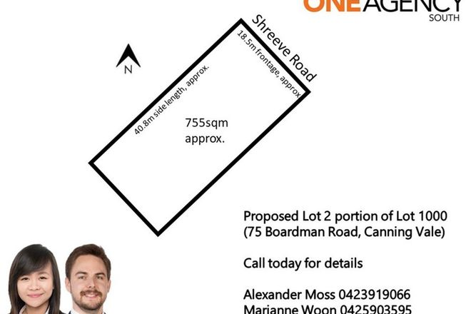 Picture of Proposed lot Shreeve Road (75 Boardman Rd), CANNING VALE WA 6155