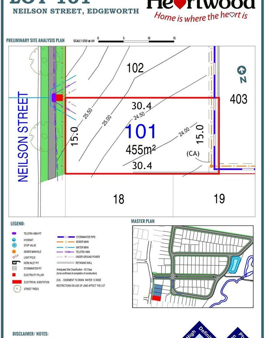 Lot 101 Neilson Street, Edgeworth NSW 2285, Image 2