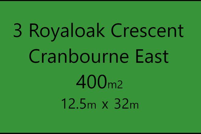 Picture of 3 Royaloak Crescent, CRANBOURNE EAST VIC 3977