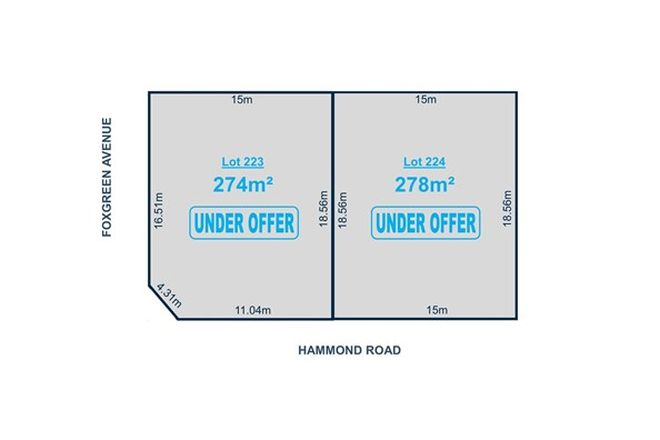 Picture of Lot 223 & 224 Hammond Road, FINDON SA 5023