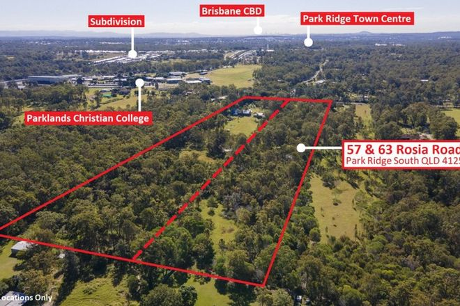 Picture of 57 & 63 Rosia Road, PARK RIDGE SOUTH QLD 4125