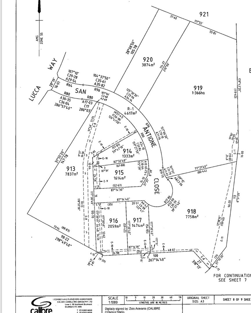 Lot 917/9 San Antione Close, Hidden Valley VIC 3756, Image 1