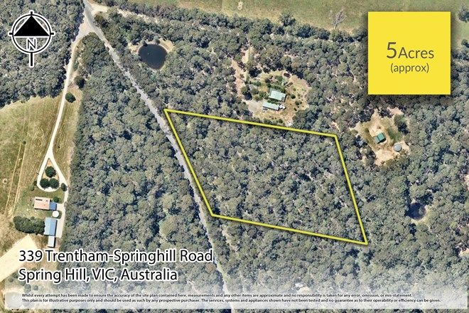 Picture of 339 Trentham Springhill Road, SPRING HILL VIC 3444