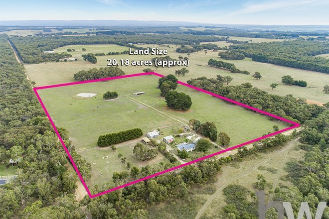 Picture of 400 Wormbete Station Road, WENSLEYDALE VIC 3241