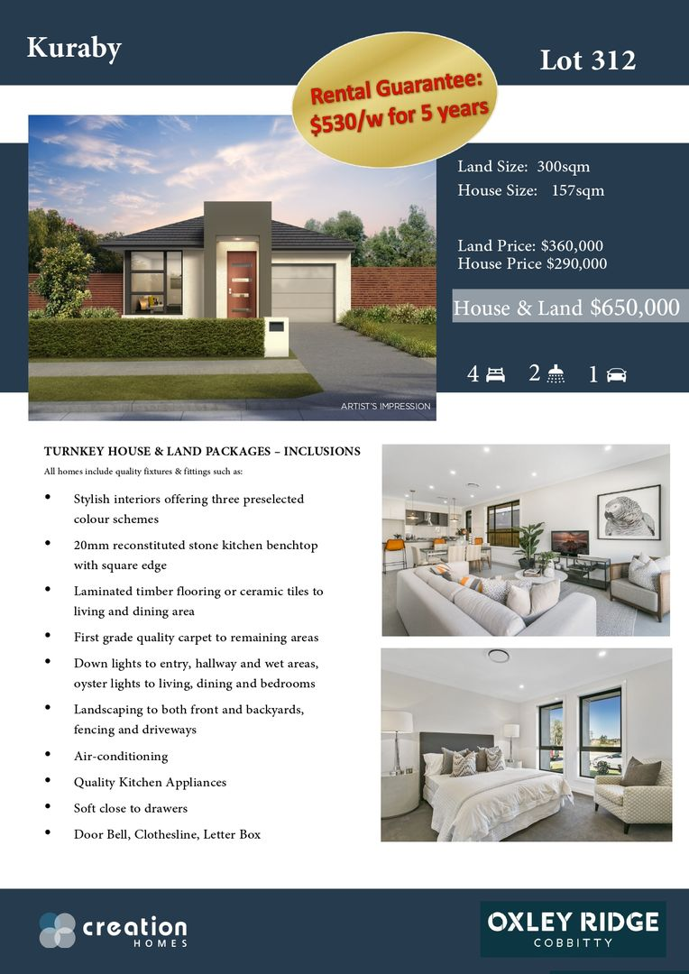 LOT 310/621 THE NORTHERN ROAD, Cobbitty NSW 2570, Image 1