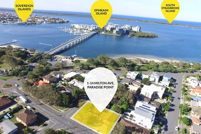 Picture of 14 Milton Avenue, PARADISE POINT QLD 4216