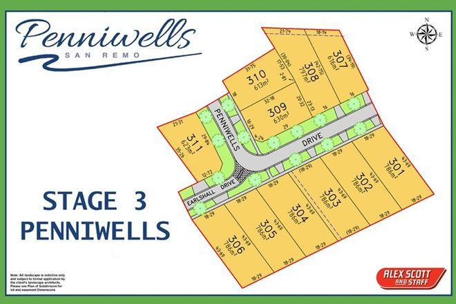 Picture of LOT 310 PENNIWELLS ESTATE, SAN REMO VIC 3925