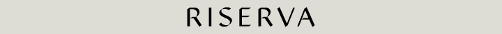 Branding for Riserva