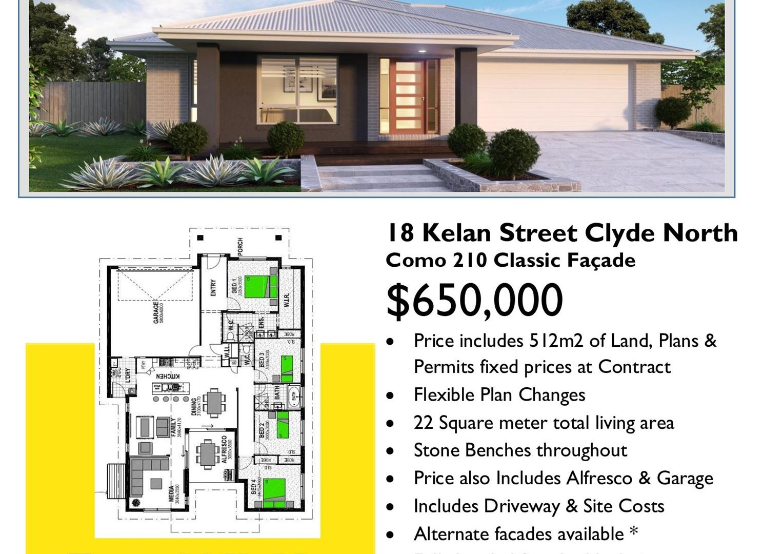 18 Kelan Street, Clyde North VIC 3978, Image 2