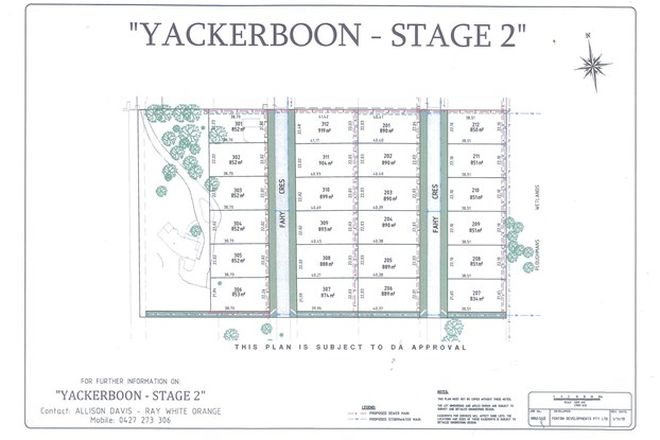 Picture of . Yackerboon Estate - Stage 2, ORANGE NSW 2800