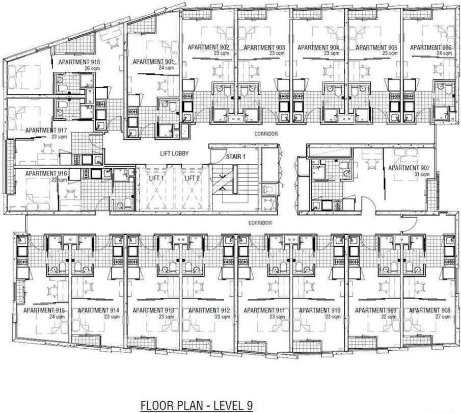 910/131 Pelham Street, Carlton VIC 3053, Image 9