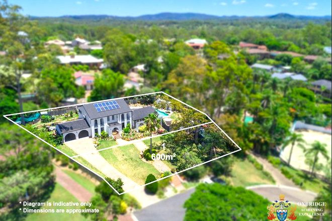 Picture of 8 Hume Court, MOUNT OMMANEY QLD 4074