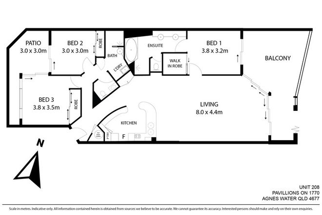 Picture of 208/4 Beaches Village Circuit, AGNES WATER QLD 4677