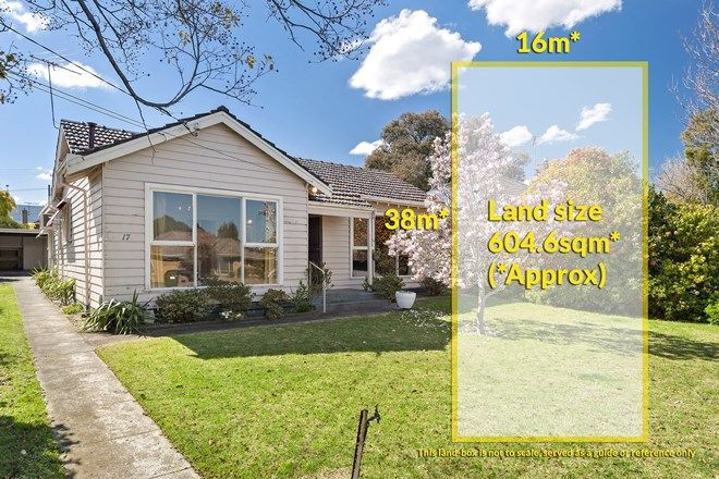Picture of 17 Salem Avenue, OAKLEIGH SOUTH VIC 3167