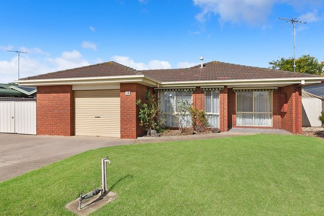 Picture of 19 Lino Court, WHITTINGTON VIC 3219