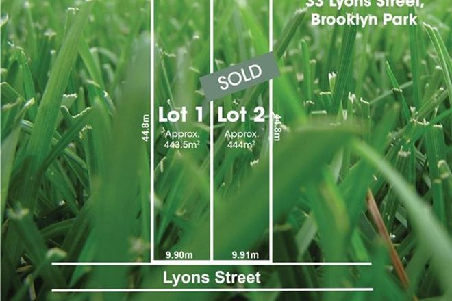 Picture of Lot 1 & Lot 2/33 Lyons Street, BROOKLYN PARK SA 5032