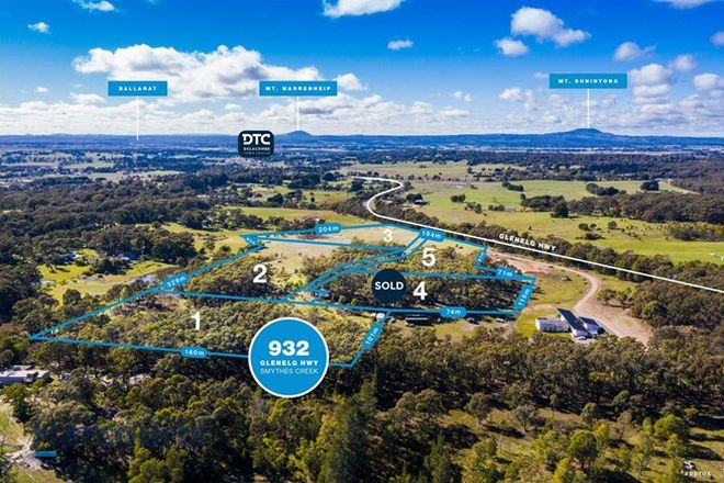 Picture of Lot 1-3, 932 Glenelg Highway, SMYTHES CREEK VIC 3351