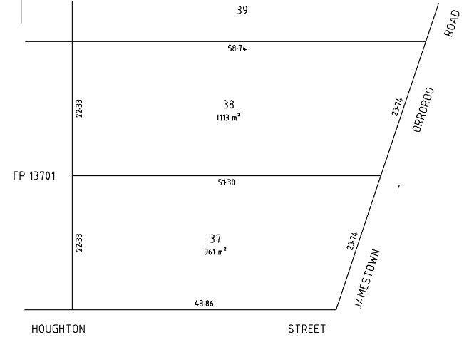Allotments 37 & 38 Houghton St, Jamestown SA 5491, Image 1