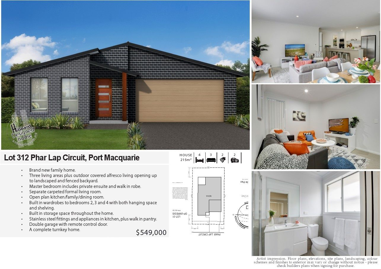 Lot 312 Phar Lap Circuit, Port Macquarie NSW 2444, Image 0