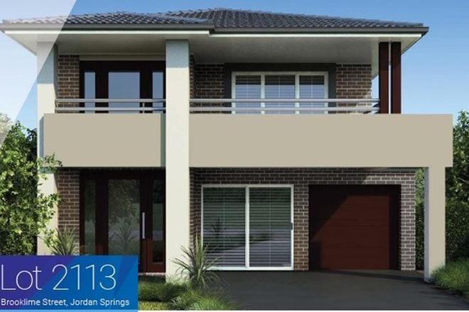 Picture of Lot 2113/18 Brooklime St, JORDAN SPRINGS NSW 2747