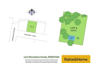 Picture of Lot 9, 1-3 Missingham Parade, Robertson NSW 2577