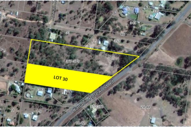 Picture of Lot 30/367-375 Karrabin Rosewood Road, WALLOON QLD 4306