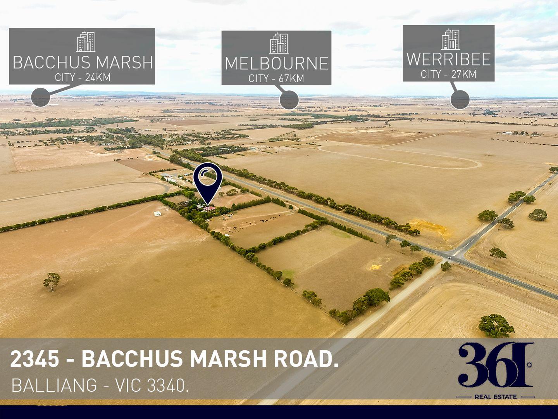 2345 Bacchus Marsh Road, Balliang East VIC 3340, Image 1