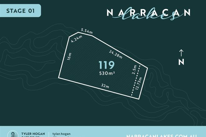 Picture of Lot 119 Narracan Lakes, NEWBOROUGH VIC 3825