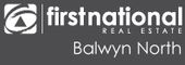 Logo for First National Balwyn North