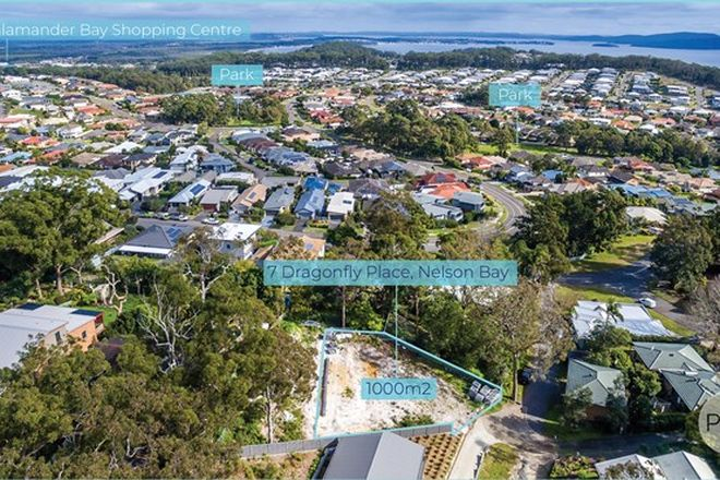 Picture of 7 Dragonfly Place, NELSON BAY NSW 2315