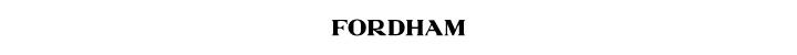 Branding for Fordham Camberwell