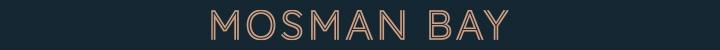 Branding for Mosman Bay