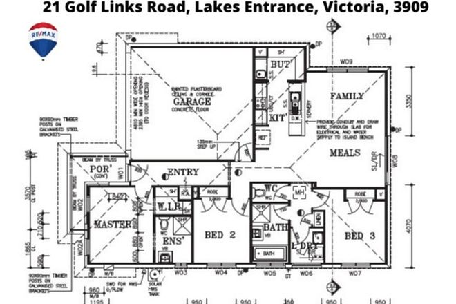 Picture of 21 Golf Links Road, LAKES ENTRANCE VIC 3909