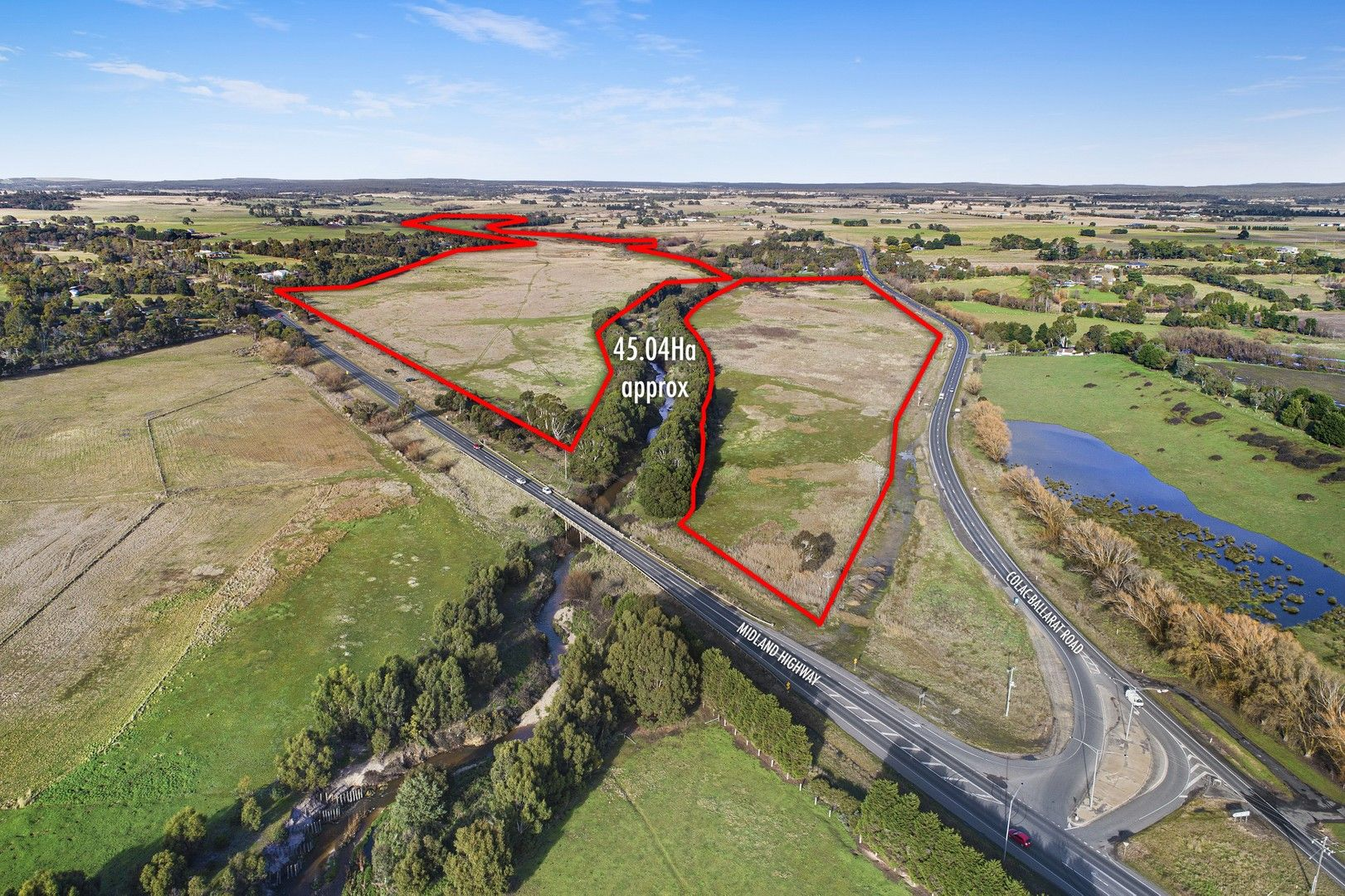 Lot 1 Midland Hwy, Magpie VIC 3352, Image 0