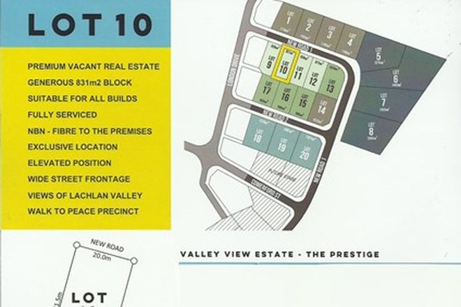 Picture of LOT 10 VALLEY VIEW ESTATE, COWRA NSW 2794