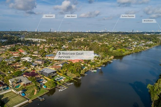 Picture of 5 Riverbank Court, ASHMORE QLD 4214