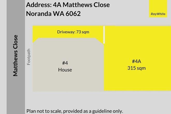 Picture of 4A Matthews Close, NORANDA WA 6062