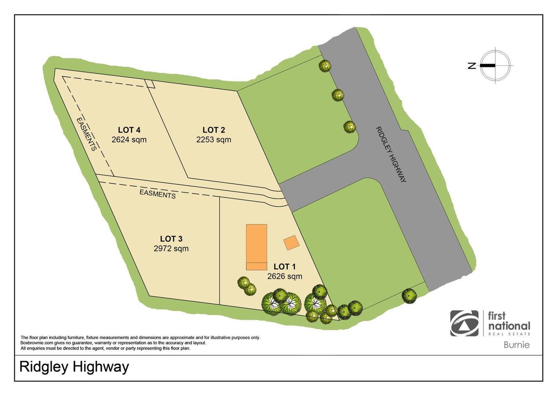Lot 4 / 870 Ridgley Highway, Ridgley TAS 7321, Image 1