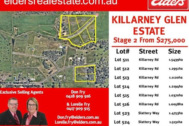 Picture of Lot 515 Killarney Rd, DARDANUP WEST WA 6236