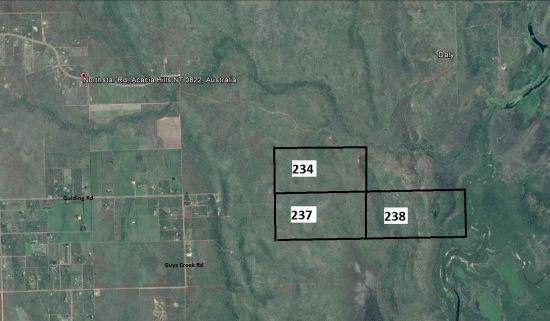 Lot 234,237&238 Hundred Of Colton, Acacia Hills NT 0822, Image 0
