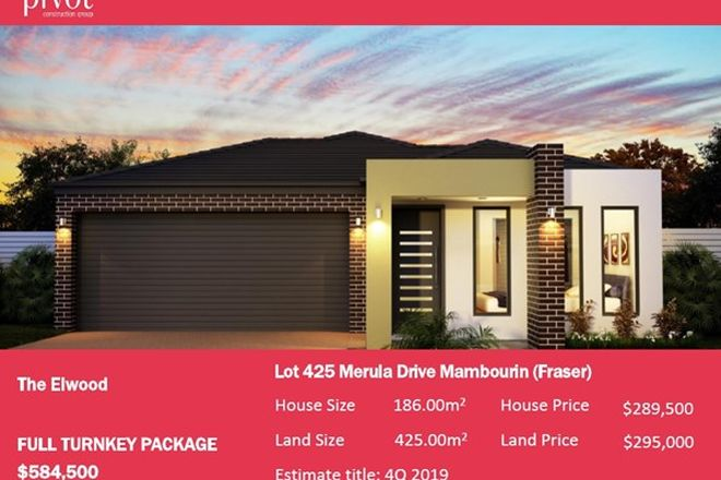 Picture of 37 (Lot 425) Merula, MAMBOURIN VIC 3024