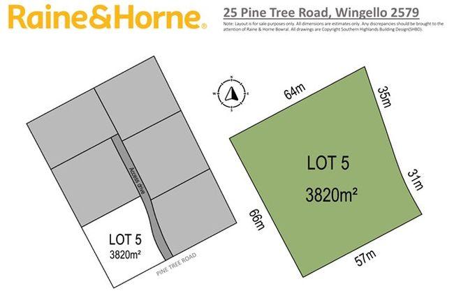 Picture of 25 Pine Tree Road, WINGELLO NSW 2579