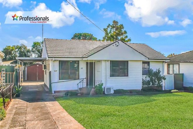 Picture of 25 Debrincat Avenue, NORTH ST MARYS NSW 2760