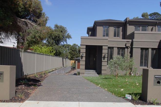 Picture of 1/26 Botanic Drive, GLEN WAVERLEY VIC 3150
