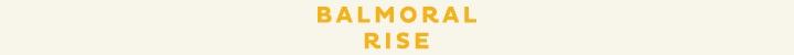 Branding for Balmoral Rise
