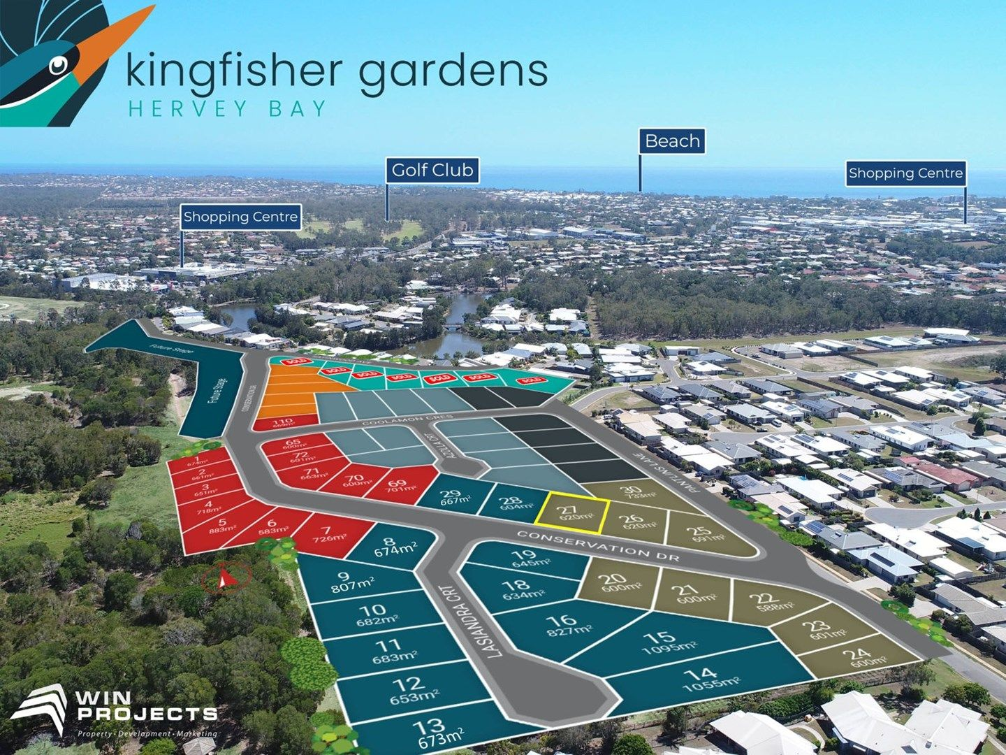 Lot 27 Conservation Drive, Kingfisher Gardens, Urraween QLD 4655, Image 1