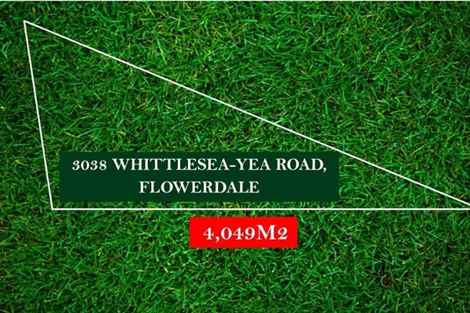 Picture of 3038 Whittlesea-Yea Road, FLOWERDALE VIC 3717
