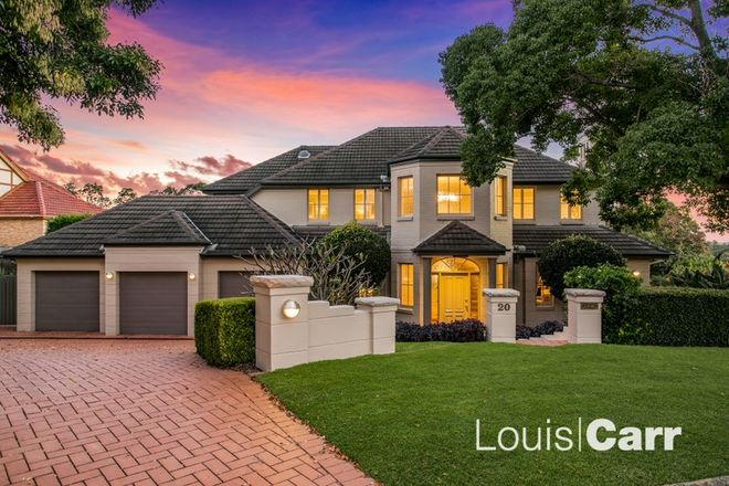 Picture of 20 Governor Phillip Place, WEST PENNANT HILLS NSW 2125