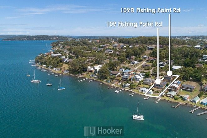 Picture of 109 Fishing Point Road, FISHING POINT NSW 2283