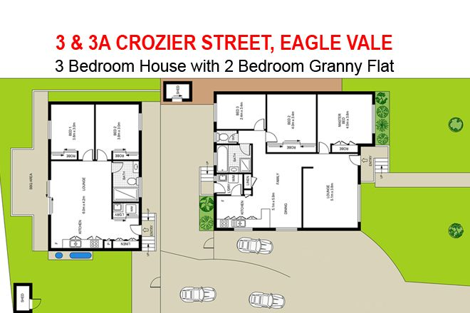 3 & 3A Crozier Street, Eagle Vale NSW 2558, Image 0